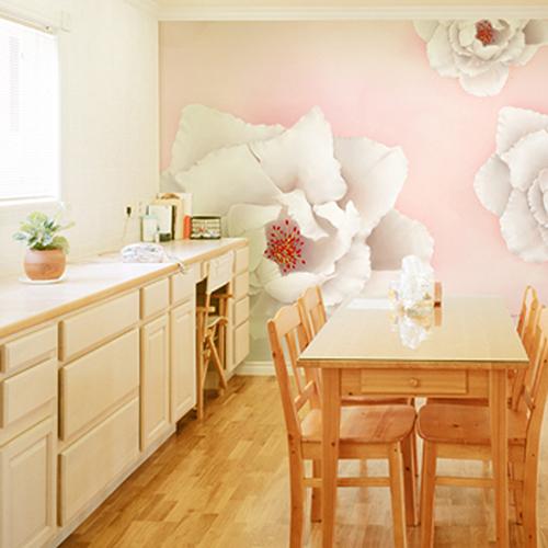 Thiết kế nội thất phòng ăn lãng mạn
