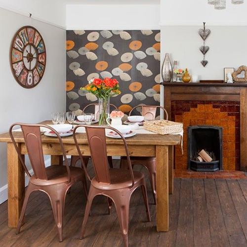 Thiết kế nội thất phòng ăn vintage