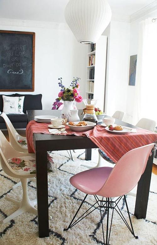 Thiết kế nội thất phòng ăn vui nhộn